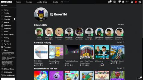 video game menu screen